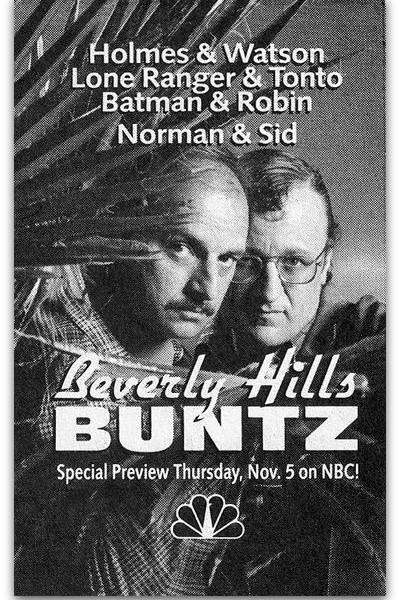 Caratula, cartel, poster o portada de Beverly Hills Buntz