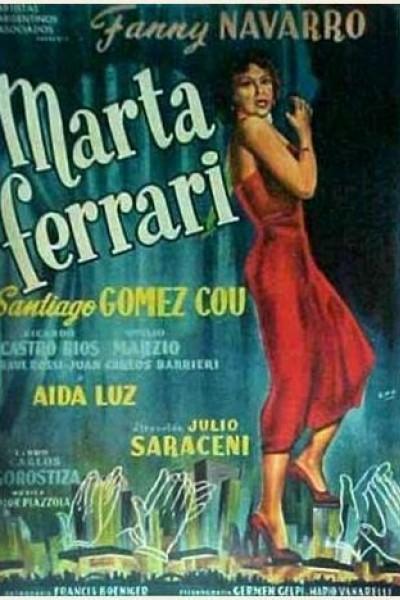 Caratula, cartel, poster o portada de Marta Ferrari