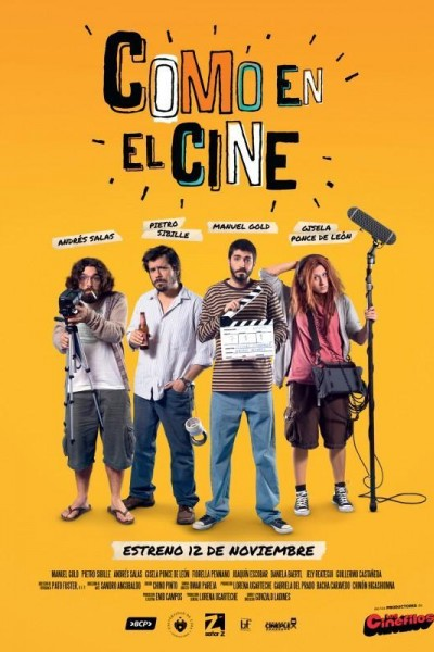 Caratula, cartel, poster o portada de Como en el cine