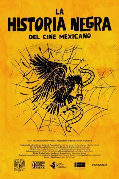 Caratula, cartel, poster o portada de La historia negra del cine mexicano