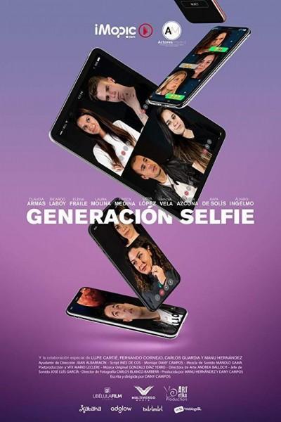 Caratula, cartel, poster o portada de Generación Selfie