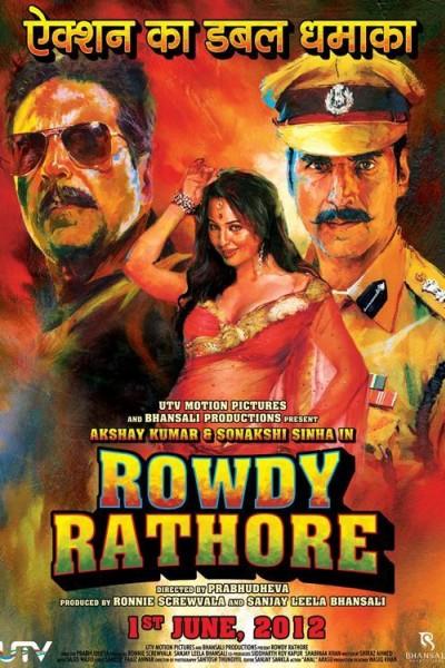 Caratula, cartel, poster o portada de Rowdy Rathore