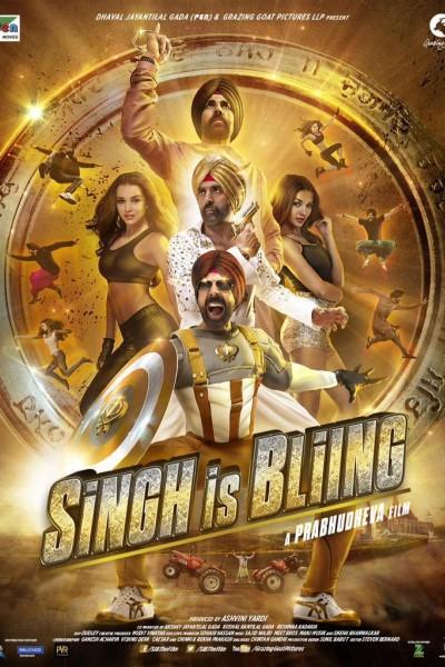 Caratula, cartel, poster o portada de Singh Is Bliing