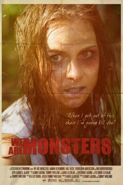Caratula, cartel, poster o portada de We Are Monsters