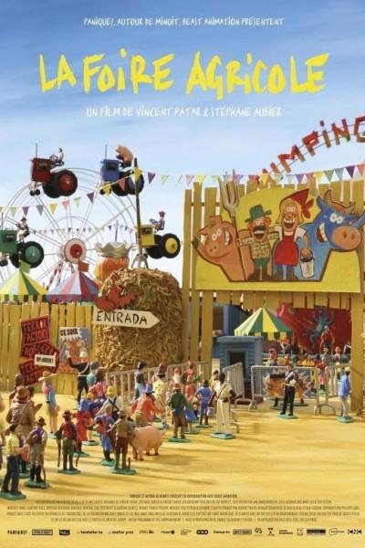 Caratula, cartel, poster o portada de Panique au village: La Foire agricole