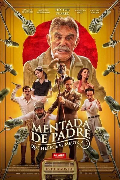 Caratula, cartel, poster o portada de Mentada de padre