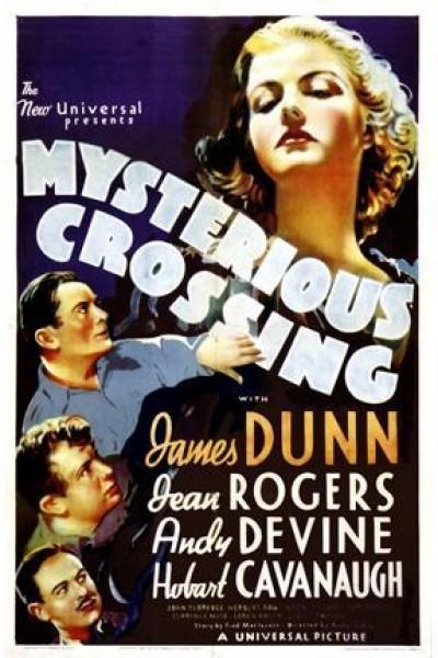 Caratula, cartel, poster o portada de Mysterious Crossing