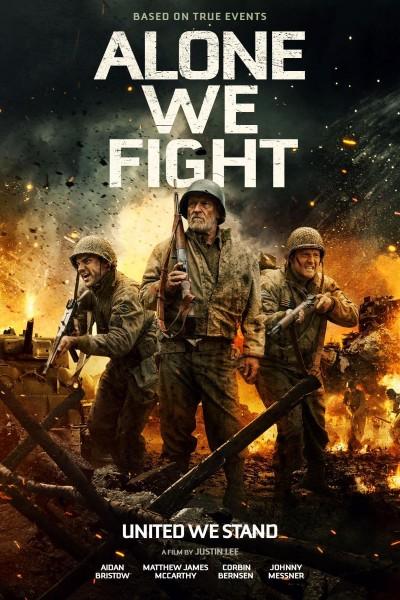 Caratula, cartel, poster o portada de Alone We Fight