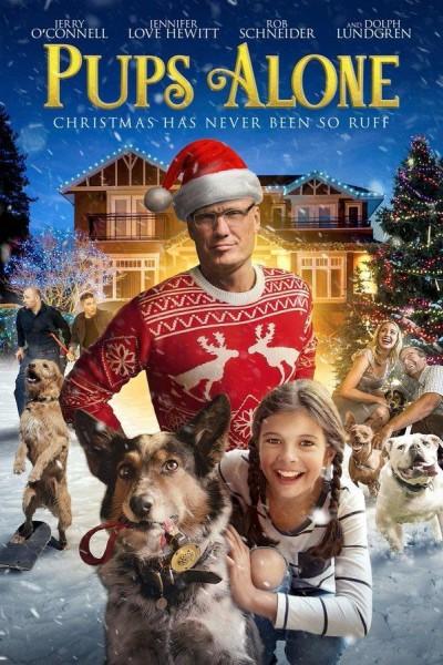 Caratula, cartel, poster o portada de Pups Alone: A Christmas Peril