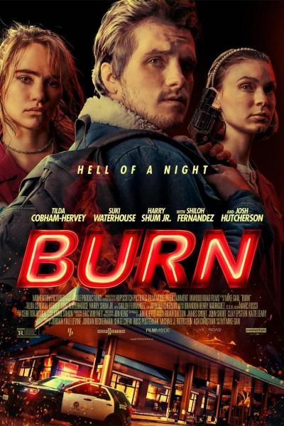 Caratula, cartel, poster o portada de Burn