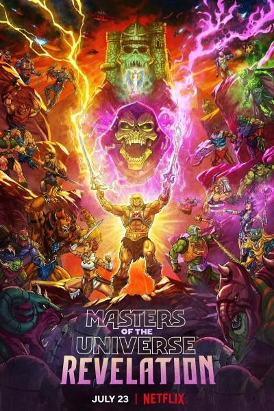 Caratula, cartel, poster o portada de Masters of the Universe: Revelation