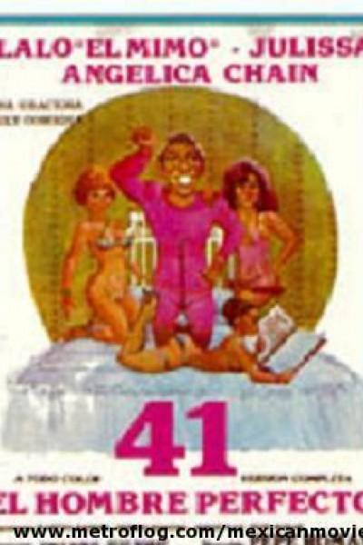 Caratula, cartel, poster o portada de 41, el hombre perfecto