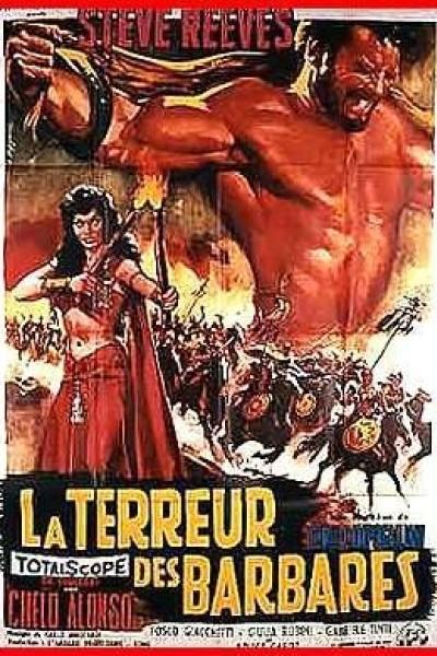 Caratula, cartel, poster o portada de El terror de los bárbaros