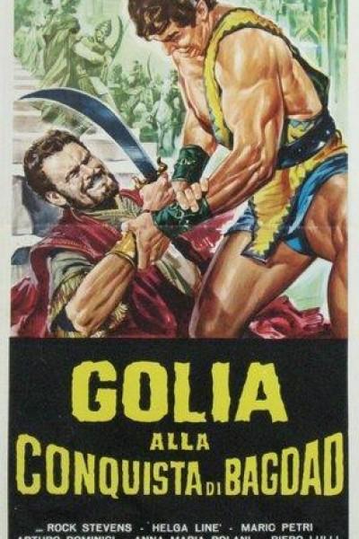 Caratula, cartel, poster o portada de Goliath y la conquista de Damascus
