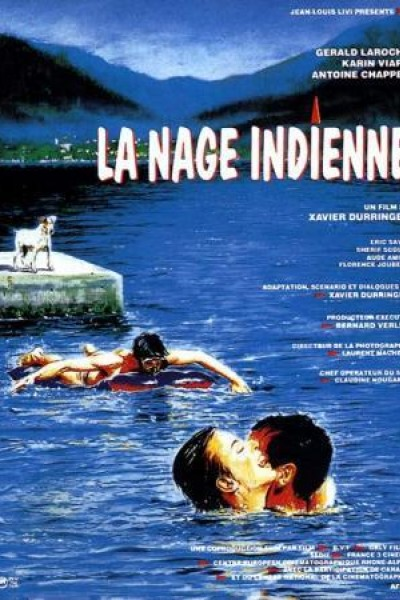 Caratula, cartel, poster o portada de La nage indienne