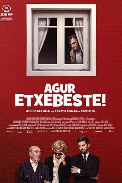 Caratula, cartel, poster o portada de Agur Etxebeste!