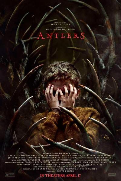 Caratula, cartel, poster o portada de Antlers: Criatura oscura