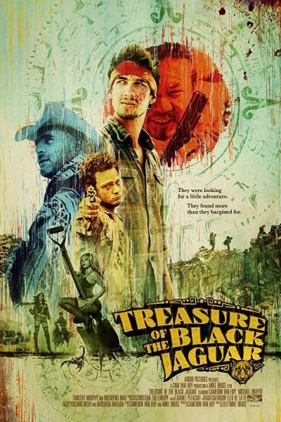 Caratula, cartel, poster o portada de Treasure of the Black Jaguar