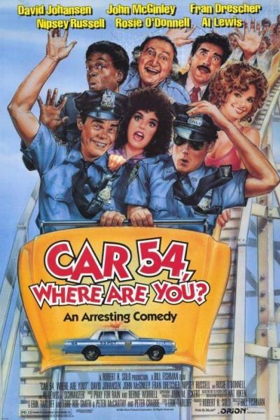 Caratula, cartel, poster o portada de Coche 54 ¿dónde estás?