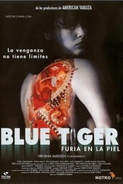 Caratula, cartel, poster o portada de Blue tiger: Furia en la piel