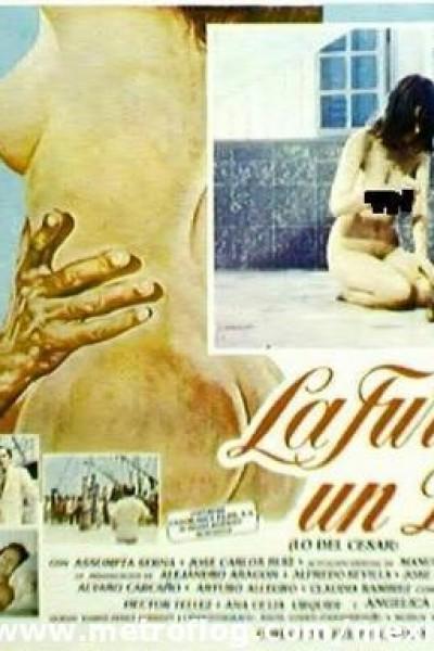 Caratula, cartel, poster o portada de La furia de un Dios