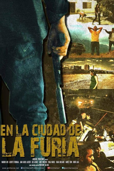 Caratula, cartel, poster o portada de En la ciudad de la furia