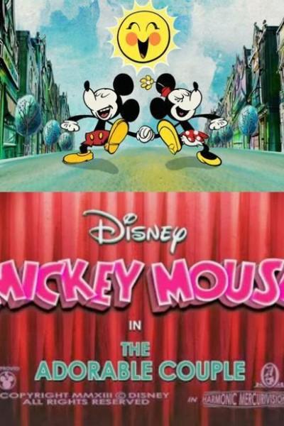 Caratula, cartel, poster o portada de Mickey Mouse: Una pareja ideal