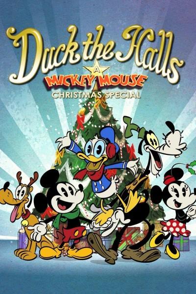 Caratula, cartel, poster o portada de Donald celebra las fiestas: Un especial de Mickey Mouse