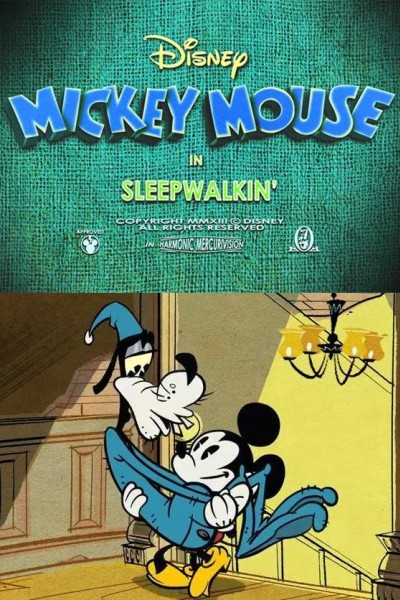 Caratula, cartel, poster o portada de Mickey Mouse: Sonámbulo