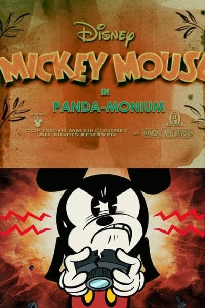 Caratula, cartel, poster o portada de Mickey Mouse: Panda-monium