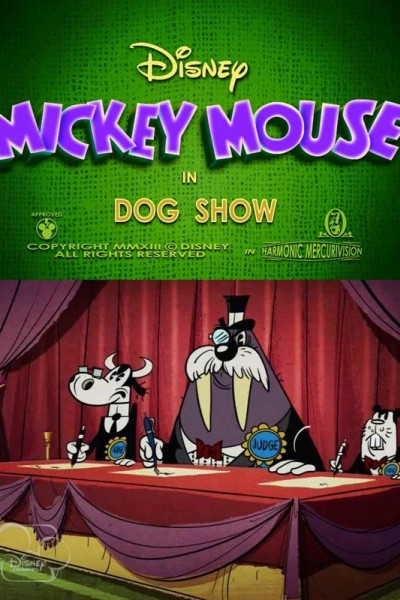 Caratula, cartel, poster o portada de Mickey Mouse: El Show Canino