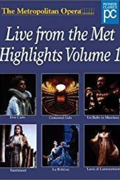 Caratula, cartel, poster o portada de Live from the Metropolitan Opera