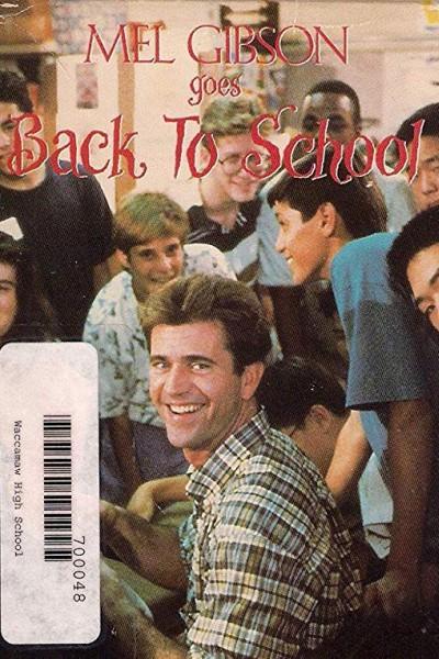 Caratula, cartel, poster o portada de Mel Gibson Goes Back to School
