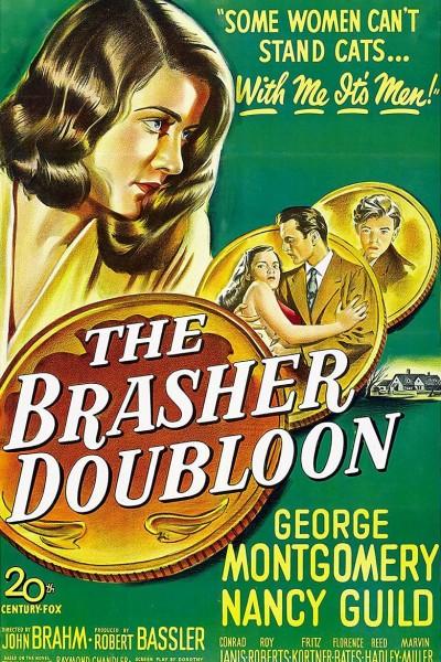 Caratula, cartel, poster o portada de The Brasher Doubloon