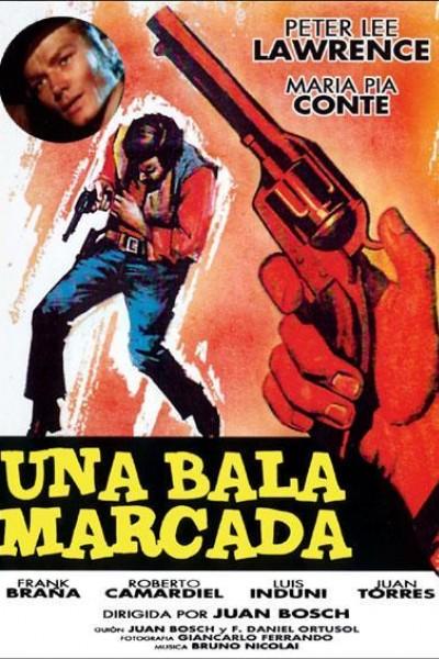 Caratula, cartel, poster o portada de Una bala marcada
