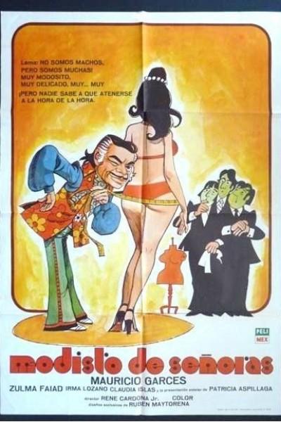 Caratula, cartel, poster o portada de Modisto de señoras