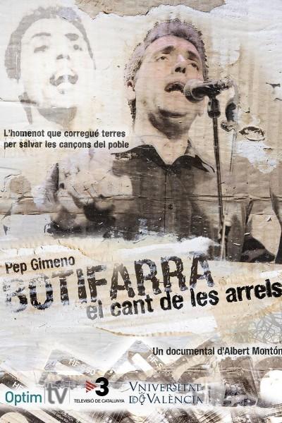 Caratula, cartel, poster o portada de Pep Gimeno Botifarra: El cant de les arrels