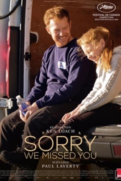 Caratula, cartel, poster o portada de Sorry We Missed You