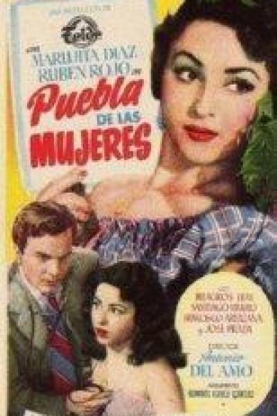 Caratula, cartel, poster o portada de Puebla de las mujeres