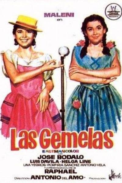 Caratula, cartel, poster o portada de Las gemelas