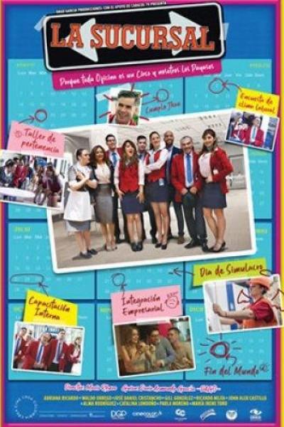 Caratula, cartel, poster o portada de La sucursal
