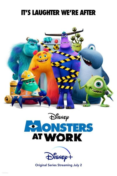 Caratula, cartel, poster o portada de Monsters at Work