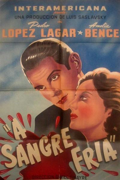 Caratula, cartel, poster o portada de A sangre fría