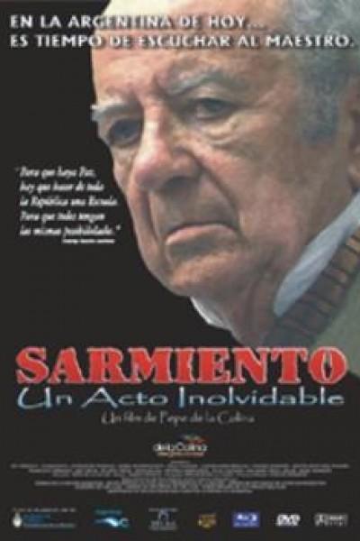 Caratula, cartel, poster o portada de Sarmiento: un acto inolvidable