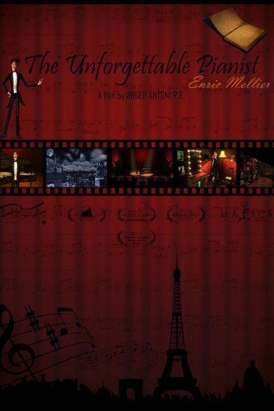 Caratula, cartel, poster o portada de El inolvidable pianista