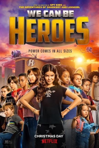 Caratula, cartel, poster o portada de We Can Be Heroes
