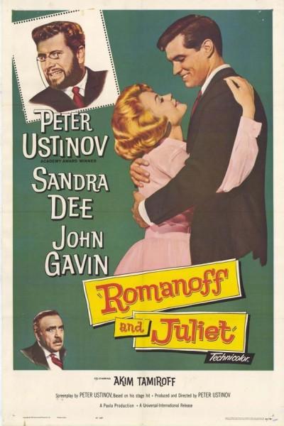 Caratula, cartel, poster o portada de Romanoff y Julieta