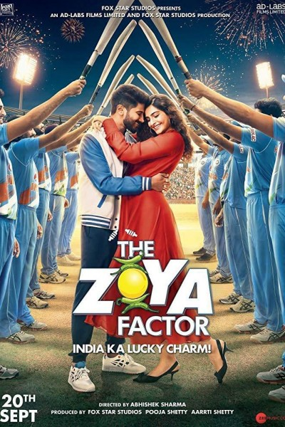Caratula, cartel, poster o portada de The Zoya Factor