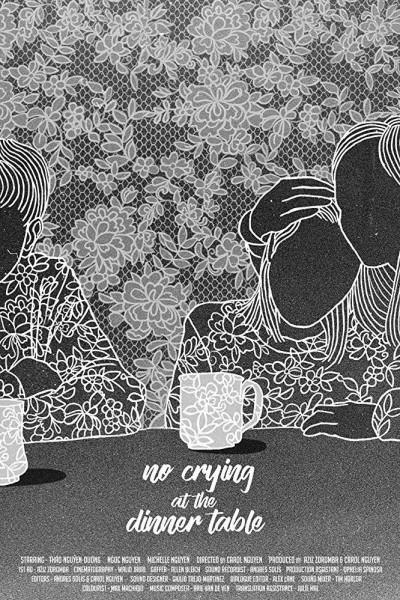 Caratula, cartel, poster o portada de No Crying At The Dinner Table