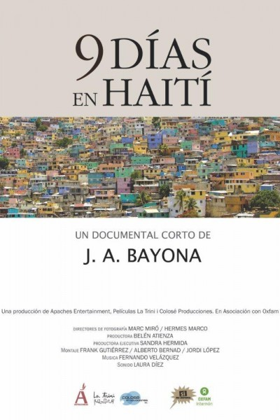 Caratula, cartel, poster o portada de 9 días en Haití